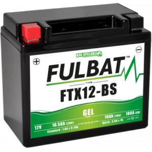 Gel battery FULBAT FTX12-BS GEL (YTX12-BS GEL)
