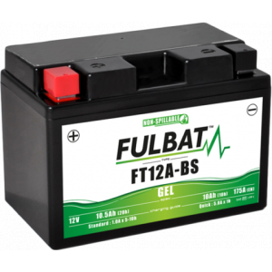 Gel battery FULBAT FT12A-BS GEL (YT12A-BS GEL)