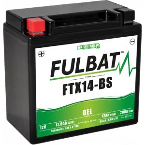Gel battery FULBAT FTX14-BS GEL (YTX14-BS GEL)