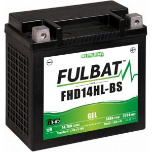Gel battery FULBAT FHD14HL-BS GEL (Harley.D) (YHD14HL-BS GEL)
