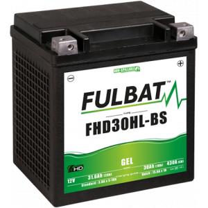 Gel battery FULBAT FHD30HL-BS GEL (Harley.D) (YHD30HL-BS GEL)