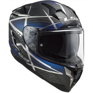 Integrální přilba na motorku LS2 FF327 Challenger C Konic černo-šedo-modrá
