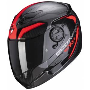 Integralny kask motocyklowy Scorpion EXO-490 Supernova czarno-czerwony