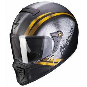 Integrální přilba Scorpion EXO-HX1 Ohno černo-zlatá wyprzedaż