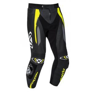 Kalhoty na motorku IXON Vortex Pant 2 černo-fluo žluté