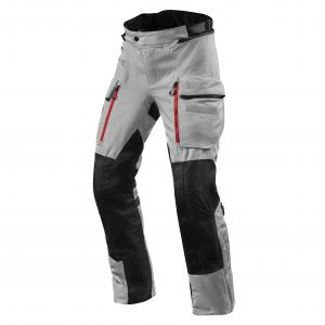 Spodnie motocyklowe Revit Sand 4 H2O srebrno-czarne