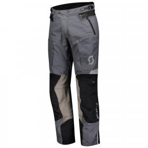 Kalhoty na motorku SCOTT Dualraid Dryo šedo-černé