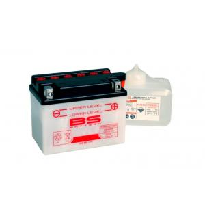 Conventional battery (incl.acid pack) BS-BATTERY 6N4-2A-4 Acid pack included