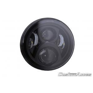 Headlight CUSTOMACCES EVOLUTION II HL0009N black