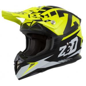 Motokrosová přilba ZED X1.9 černo-fluo žlutá