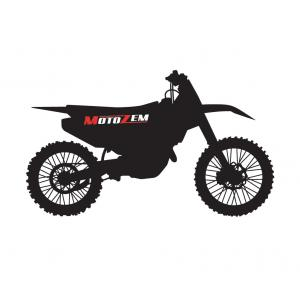 Nálepka MotoZem Cross Bike