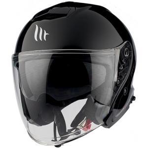 Otwarty kask motocyklowy MT Thunder 3 SV Solid czarny - II. jakość