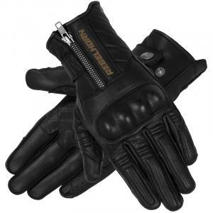 Rękawice motocyklowe Rebelhorn Hunter czarne