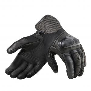 Rękawice motocyklowe Revit Metric czarno-szare