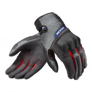 Rękawice motocyklowe Revit Volcano czarno-szare