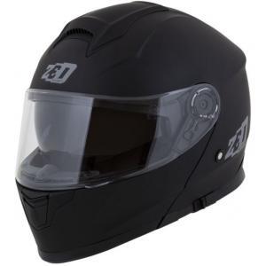 Vyklápěcí přilba na motorku ZED F18 černá matná