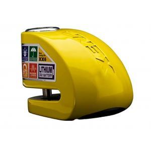 Zámek na kotoučovou brzdu XENA XX6 žlutý