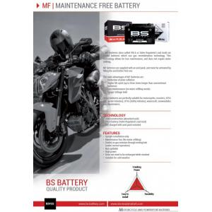 Maintenance free battery BS-BATTERY BTX14-BS (YTX14-BS)