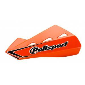 Handguard POLISPORT QWEST with universal plastic mounting kit orange KTM