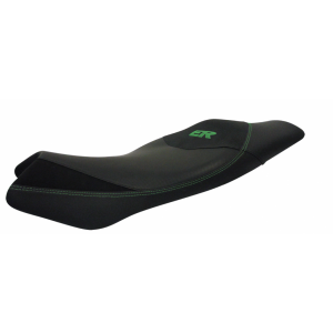 Comfort seat SHAD SHK0E6107 black, green seams