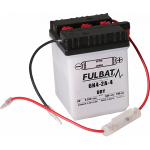 Conventional battery (incl.acid pack) FULBAT 6N4-2A-4 Acid pack included