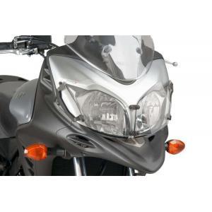 Headlight protector PUIG 8125W transparent