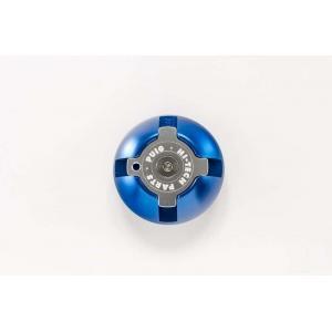 Plug oil cap PUIG 6158A blue M30x1,5