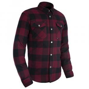 Koszula motocyklowa Oxford Kickback 2.0 czerwono-czarna