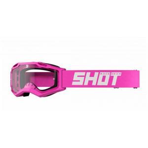 Motokrosové brýle Shot Assault 2.0 Solid fluo růžové