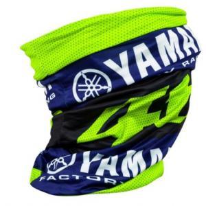 Nákrčník VR46 Valentino Rossi Yamaha modro-fluo žlutý