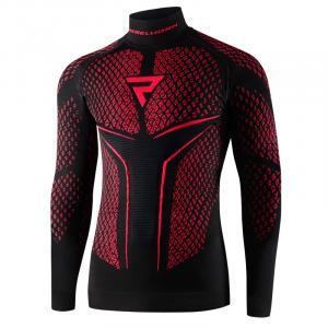 Koszulka termoaktywna Rebelhorn Therm II  czarno-czerwona