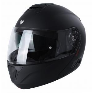 Szczękowy kask motocyklowy RSA Rival czarny mat