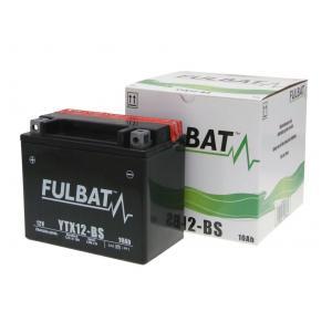 Maintenance free battery FULBAT FTX12-BS (YTX12-BS)