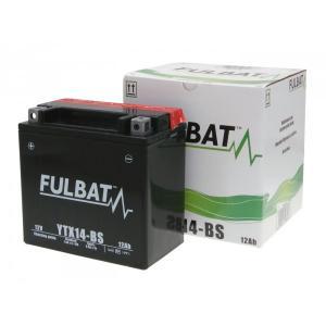 Maintenance free battery FULBAT FTX14-BS (YTX14-BS)