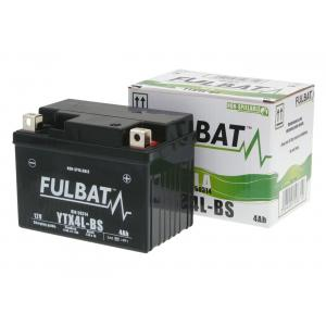 Maintenance free battery FULBAT FTX4L-BS (YTX4L-BS)