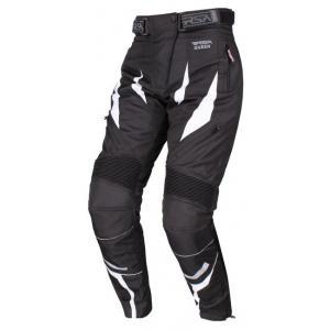 Damskie spodnie motocyklowe RSA Queen czarno-białe