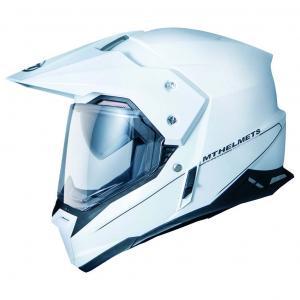 Enduro kask MT Synchrony Duosport SV biały