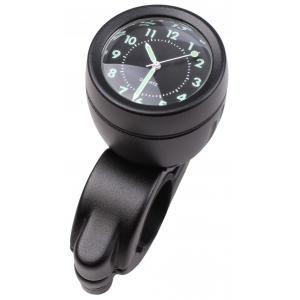 Zegarek na kierownicę z uchwytem R-TECH czarny