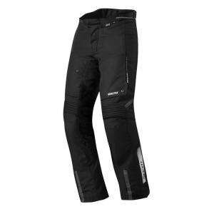 Spodnie motocyklowe Revit Defender Pro GTX czarne skrócone