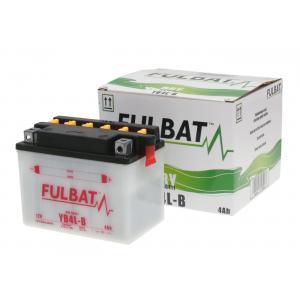 Conventional battery (incl.acid pack) FULBAT FB4L-B  (YB4L-B) Acid pack included