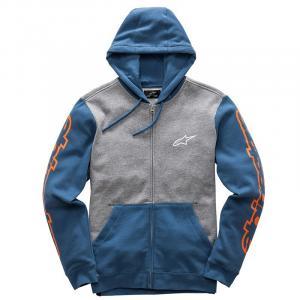 Bluza Alpinestars Machine Fleece szaro-niebieska
