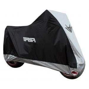 Pokrowiec na motocykl RSA czarno-srebrny