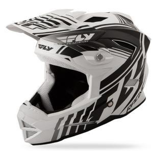 Motocrossowy kask FLY Racing DEFAULT - USA biały matowy-czarny