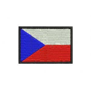 Naszywka flaga CZ