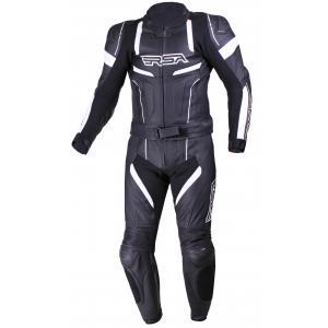 Kombinezon motocyklowy RSA Speedway czarno-biały