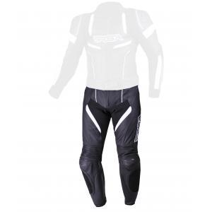 Skórzane spodnie motocyklowe RSA Speedway czarno-białe