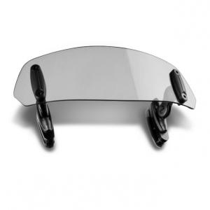 Multiadjustable visor PUIG 6375H clip-on smoke