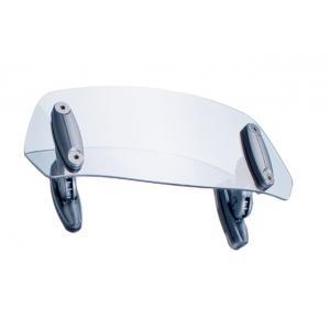 Multiadjustable visor PUIG 6007W fixed by screws transparent