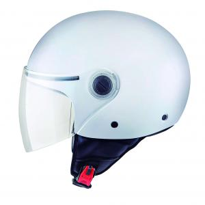 Otwarty kask motocyklowy MT Street biały