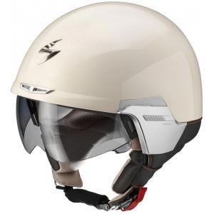Otwarty kask motocyklowy Scorpion EXO-100 Padova II beżowy wyprzedaż